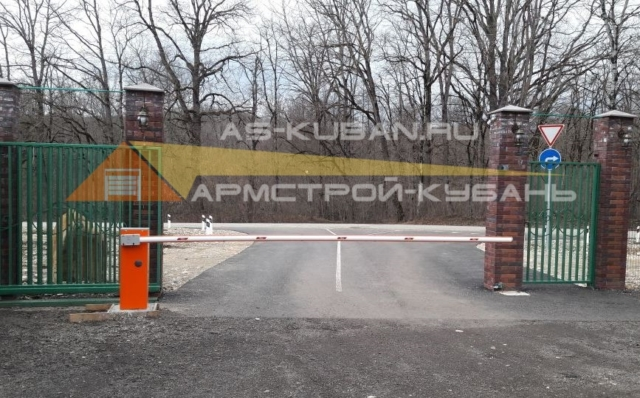 автоматический шлагбаум в Краснодаре