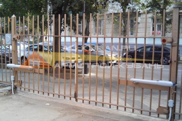 автоматика для распашных ворот в Краснодаре