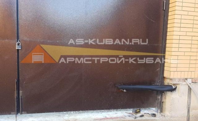 автоматика для тяжелых ворот в Краснодаре
