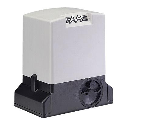 Комплект автоматики FAAC 741 KIT для откатных ворот, вес ворот до 900 кг
