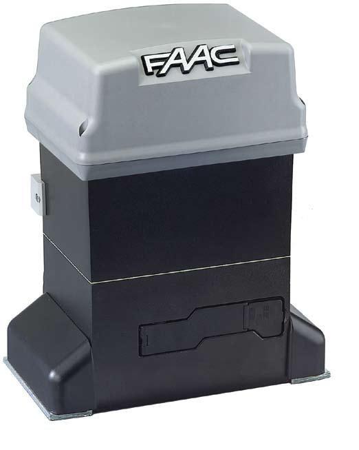 Комплект автоматики FAAC 746 ER KIT для откатных ворот, вес ворот до 600 кг