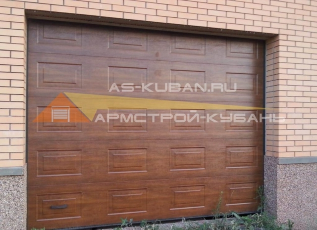 гаражные секционные ворота в Краснодаре