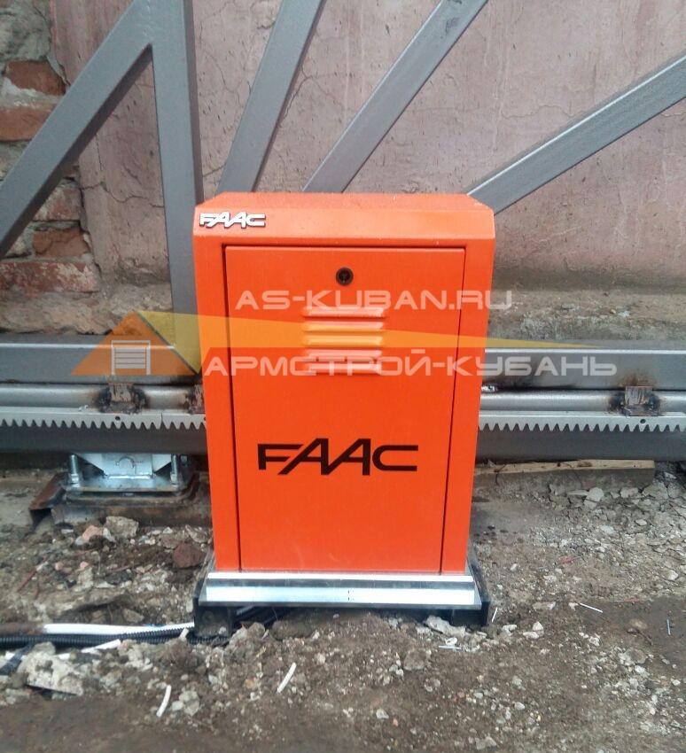 откатная автоматика для тяжелых ворот в Краснодаре