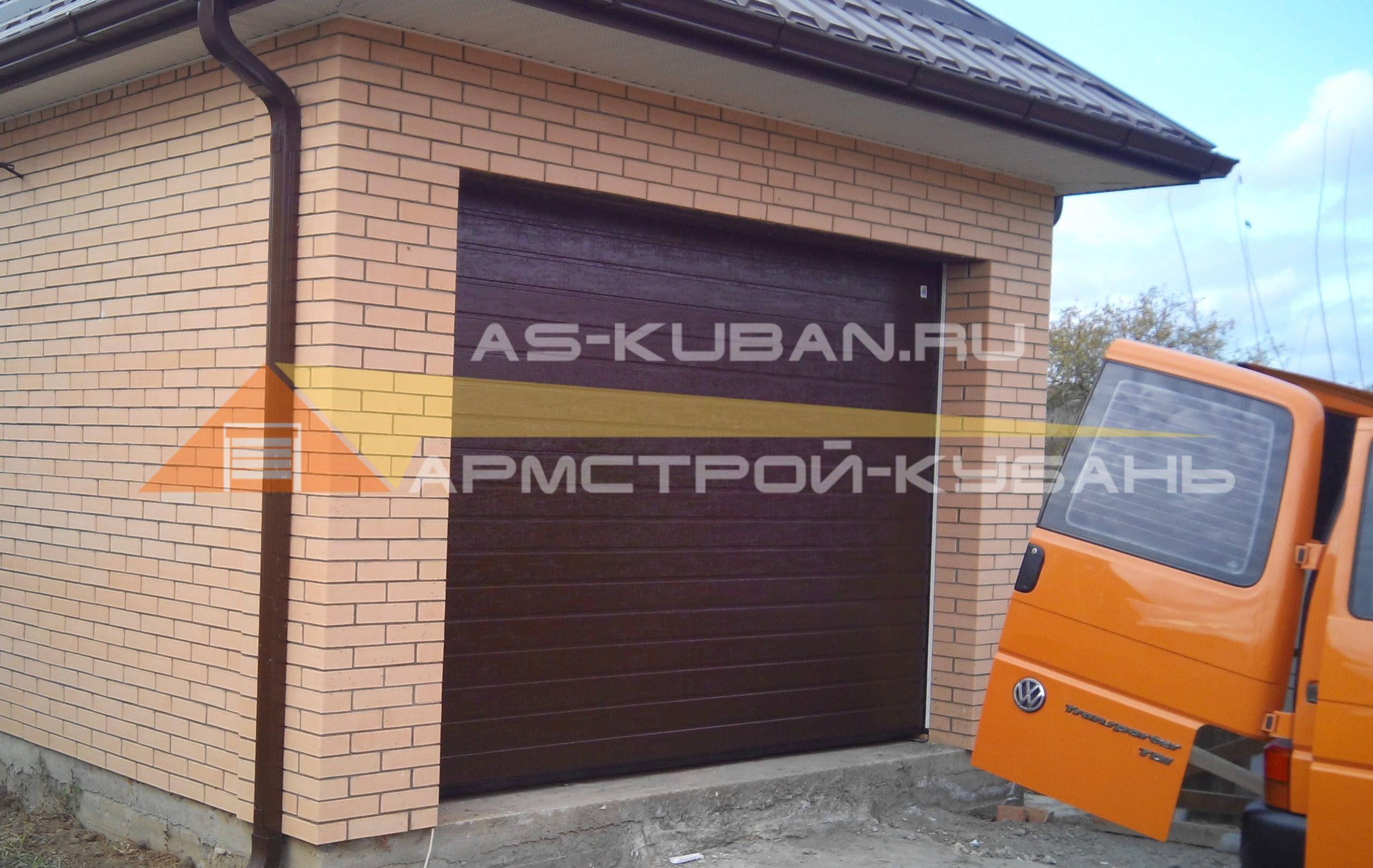 ворота на гараж в Краснодаре
